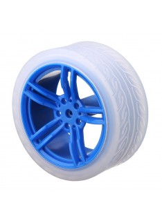 65mm Wheel with 3-6V DC Motor for Blue Robot Chassis