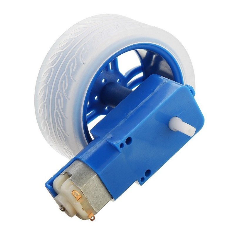 65mm Wheel with 3-6V DC Motor for Robot Chassis