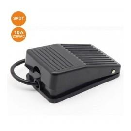 10A 250V SPDT Foot Switch Black