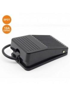 Interruptor de Pie 10A 250V SPDT Negro