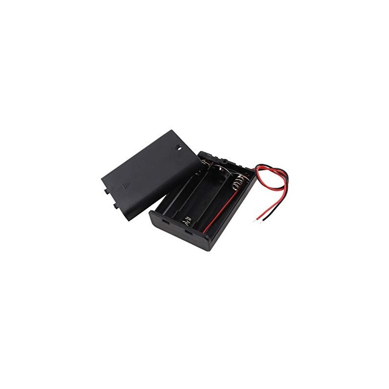 3xAA Battery Holder with Switch and Cable