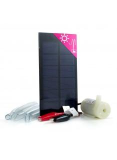 Kit Micro Solar com Bomba de Água