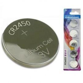 Pilha de Lítio CR2450 3V - Grundig