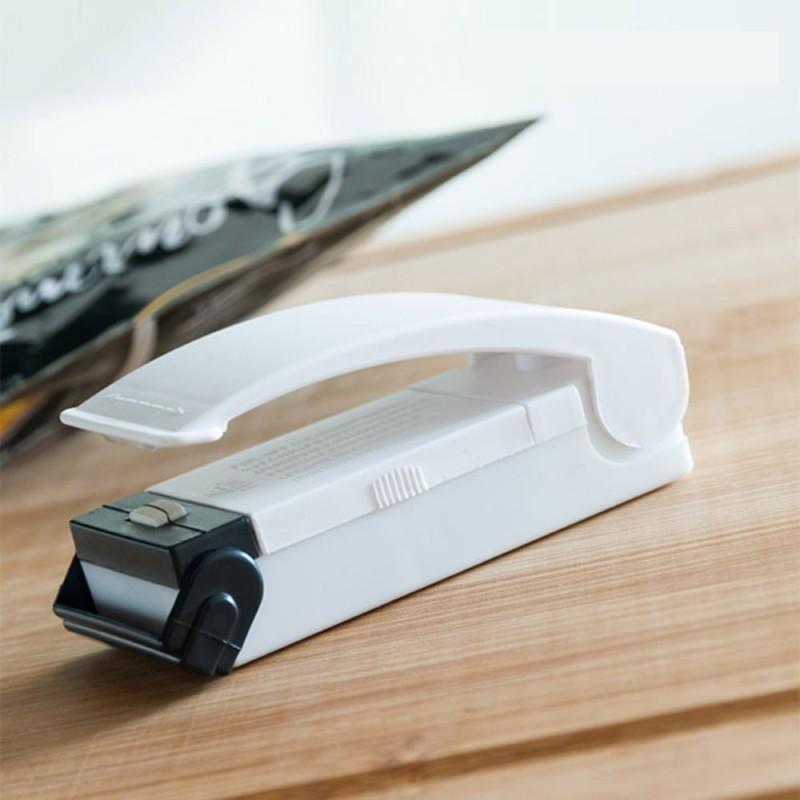 Mini Selador de Embalagens Portátil com Íman