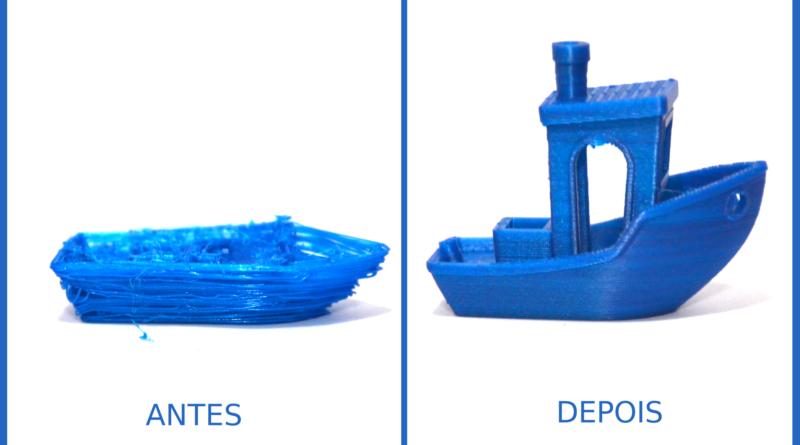 Problemas Impressão 3D – Extrusão excessiva ou super-extrusão