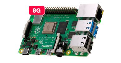 Novo Raspberry Pi 4 Model B 1.5GHz 8GB – Com WiFi 2.4/5GHz + Bluetooth 5.0 + PoE