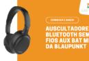 Auscultadores Bluetooth Sem Fios Aux Bat Mic da Blaupunkt