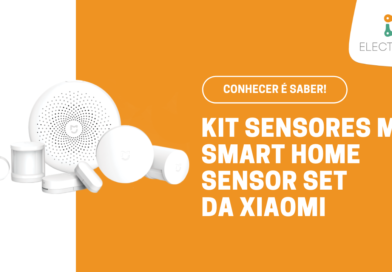 Kit Sensores Mi Sensor Set Smart Home da Xiaomi