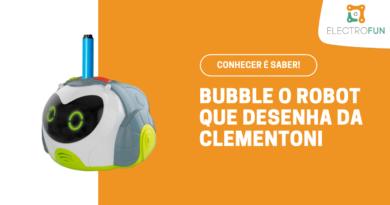 Bubble, o Robot que Desenha da Clementoni