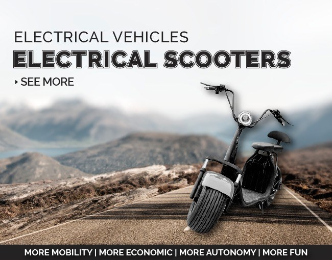 Scooters Eletricas - ElectroFun